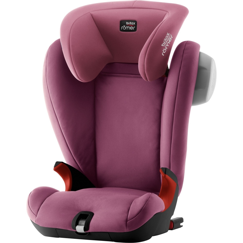 Britax Kidfix SL SICT Black Series Group 2/3 Car Seat-Wine Rose (New)