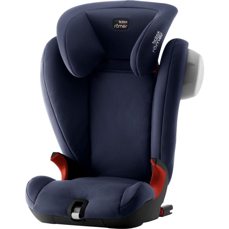 Britax Kidfix SL SICT Black Series Group 2/3 Car Seat-Moonlight Blue (New)