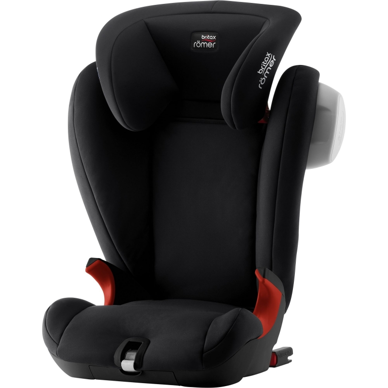 Britax Kidfix SL SICT Black Series Group 2/3 Car Seat-Cosmos Black (New)