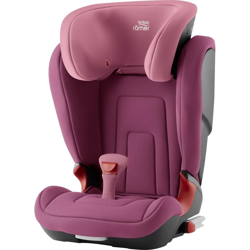Britax Kidfix II R Group 2/3 Car Seat-Wine Rose (New)