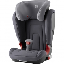 Britax Kidfix II R Group 2/3 Car Seat- Storm Grey (New)