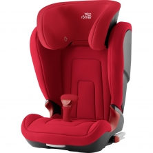 Britax Kidfix II R Group 2/3 Car Seat-Fire Red (New)