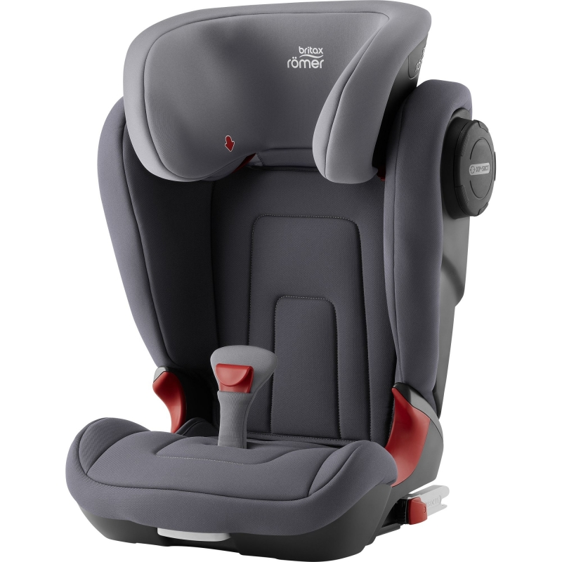 Britax Kidfix II S Group 2/3 Car Seat-Storm Grey (New)
