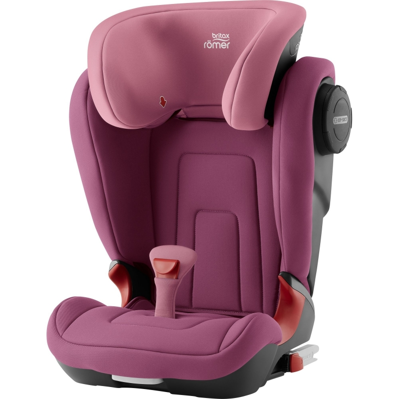 Britax Kidfix II S Group 2/3 Car Seat-Wine Rose (New)