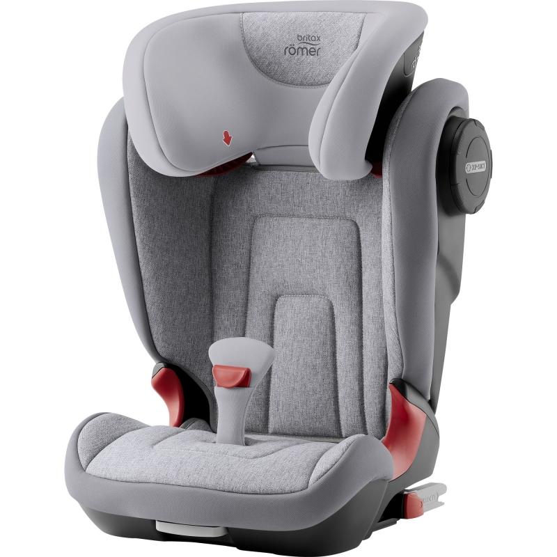 Britax Kidfix II S Group 2/3 Car Seat-Grey Marble (New)