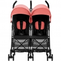 Britax Holiday Double Stroller-Coral Peach (New)