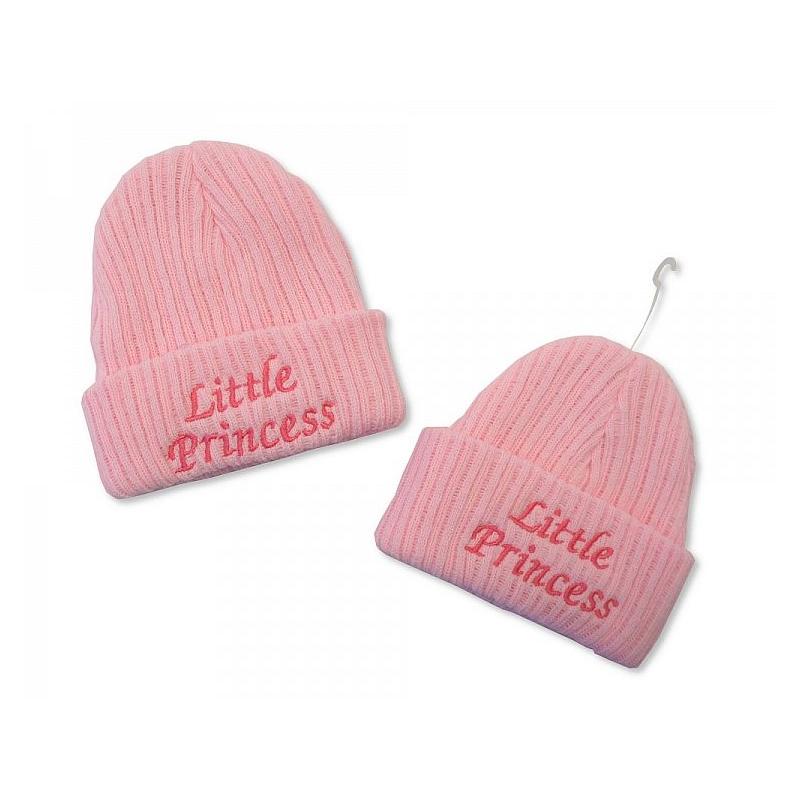 Sheldon Baby Girls Knitted Hat Little Princess