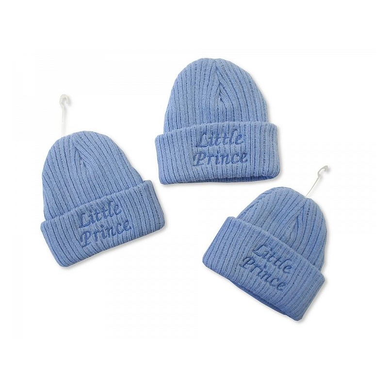 Sheldon Baby Boys Knitted Hat Little Prince