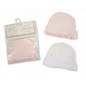 Sheldon Premature Baby Girls Hats 2 Packs