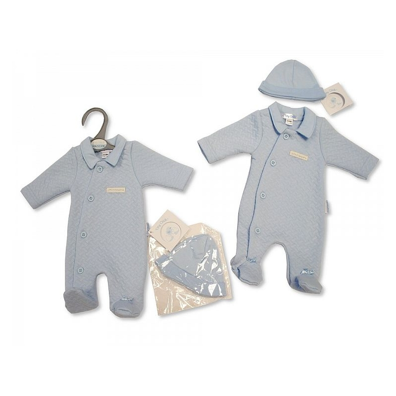 Sheldon Premature Baby Boys All In One With Hat Little And Handsome