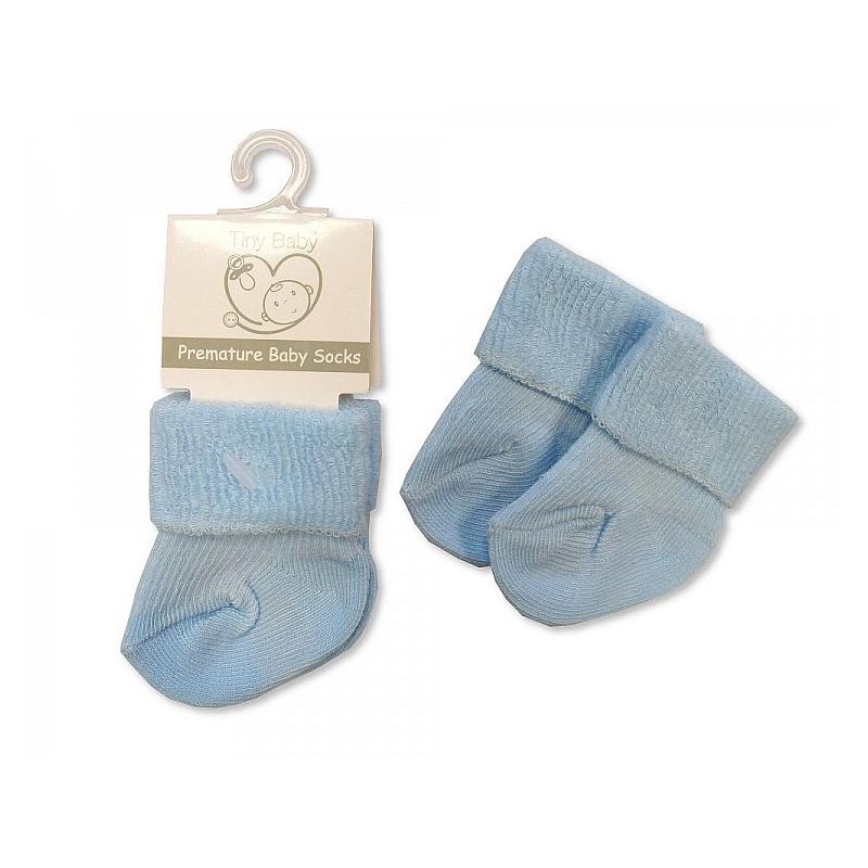 Sheldon Premature Baby Roll Over Socks Sky