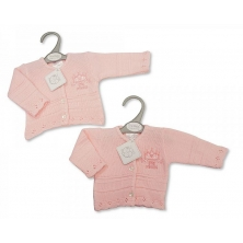 Sheldon Baby Girls Premature Knitted Cardigan-Little Princess