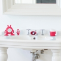 Prince Lionheart EYEFAMILY Bathroom Set-Fuchsia