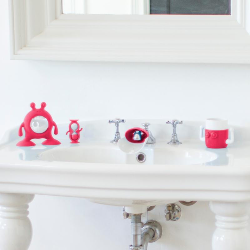 Prince Lionheart EYEFAMILY Bathroom Set-Fuchsia