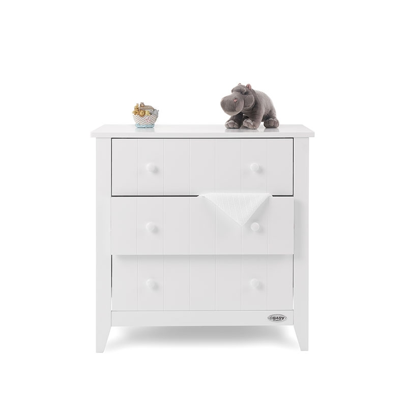 Obaby Belton Chest Of Drawers-White