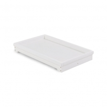 Obaby Belton Chest/Cot Top Changer-White (NEW)