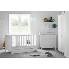 Obaby Belton 3 Piece Room Set-White