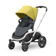 Quinny Hubb Silver Frame XXL Shopping Stroller-Ochre/Graphite