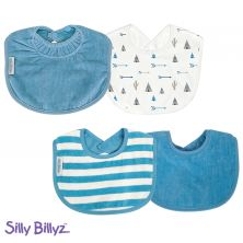 SillyBillyz Biblet Bundle-Blue