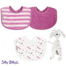 SillyBillyz Biblet +Comforter Bundle-Pink