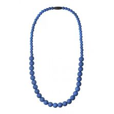 Nibbling Kew Teething Necklace-Saffire