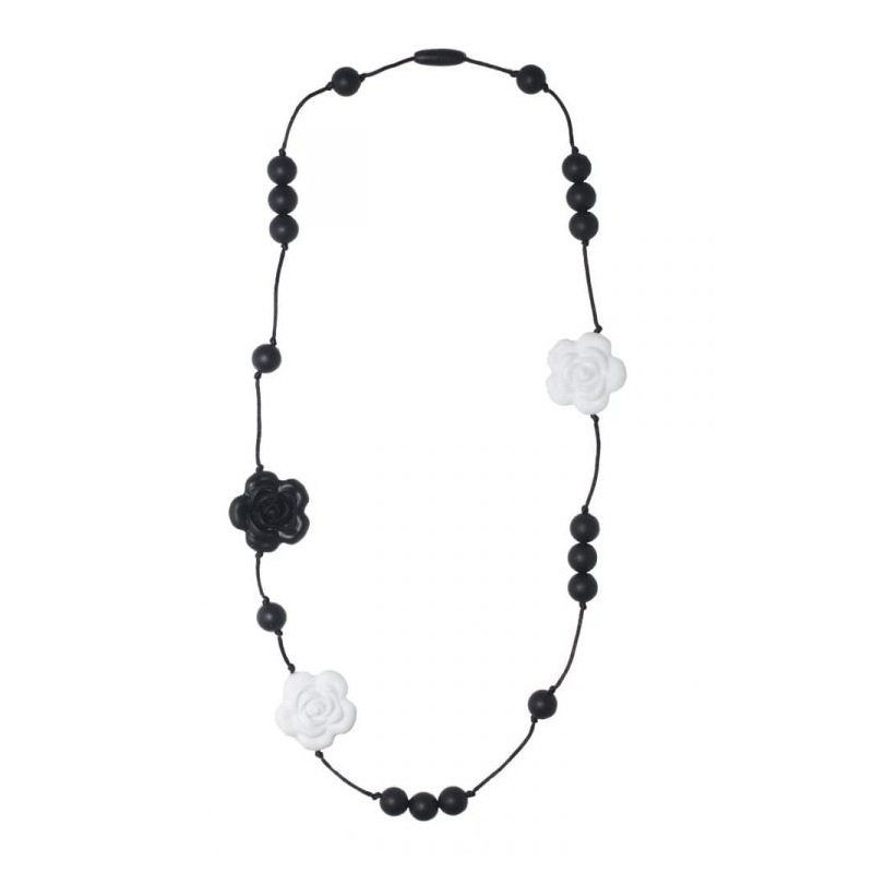 Nibbling Teething Necklace-Coco