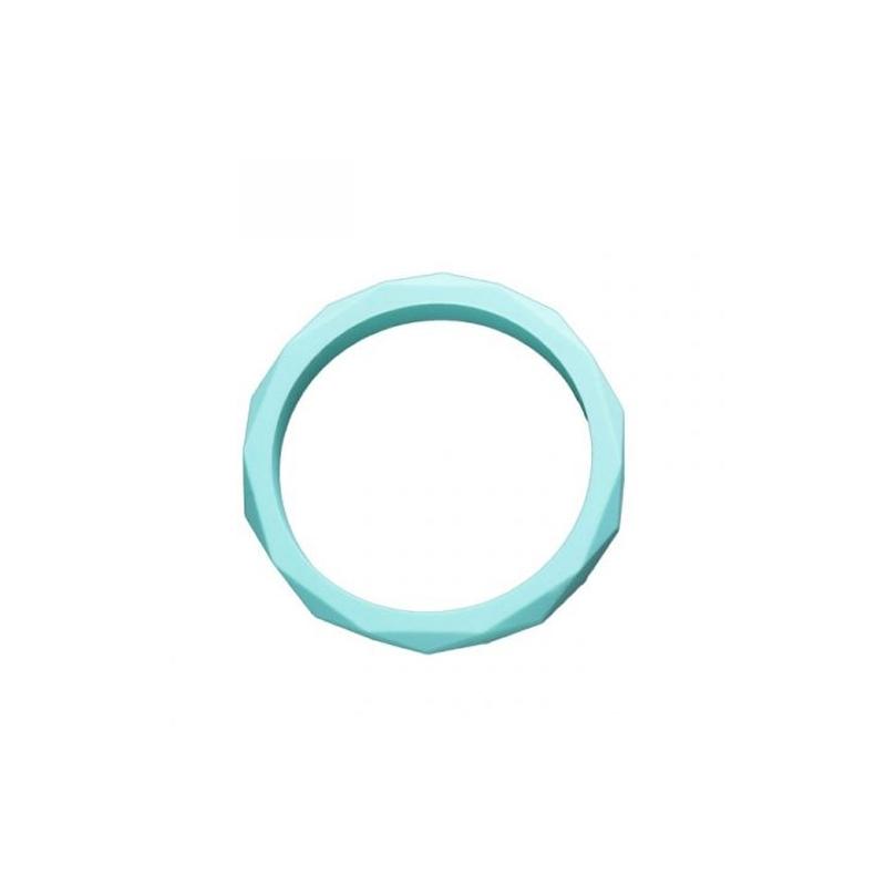 Nibbling Teething Bangle-Turquoise
