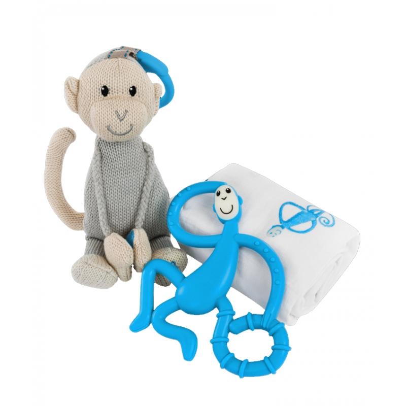 Matchstick Monkey Gift Set-Blue