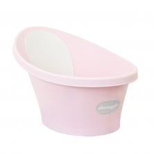 Shnuggle Baby Bath With Foam Back Rest-Rose (New)