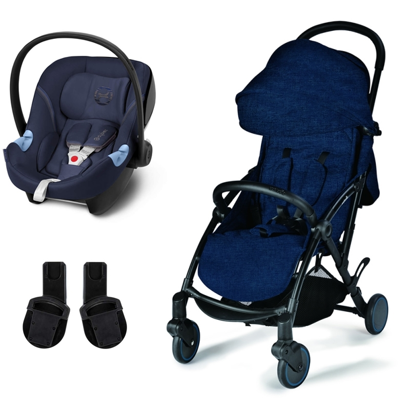 Unilove S Light 2in1 Travel System-Royal Blue with Aton M Carseat!