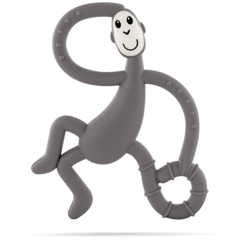 Matchstick Monkey Teething Dancing Toy Grey