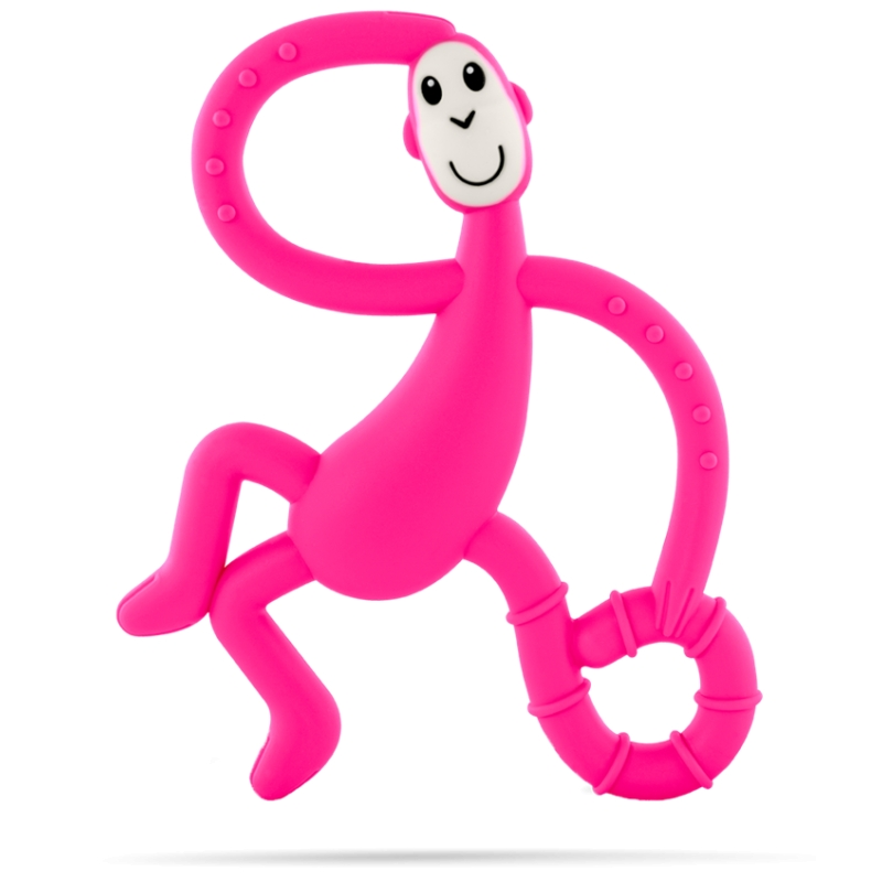 Matchstick Monkey Teething Dancing Toy-Pink