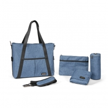 Tutti Bambini Grande Changing Bag-Midnight Blue