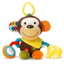 Skip Hop Bandana Buddies Activity Monkey