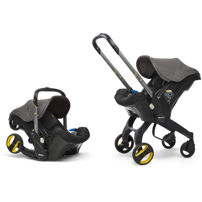 Doona Infant Car Seat Stroller-Urban Grey + FREE Doona Rain Cover Worth 29.99!