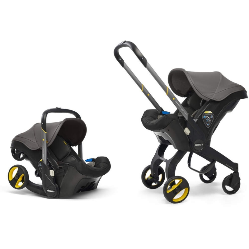 Doona Infant Car Seat Stroller-Urban Grey + FREE Raincover Worth £24.99!