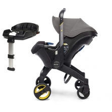 Doona Infant Car Seat Stroller With ISOFIX Base-Urban Grey (New 2019)