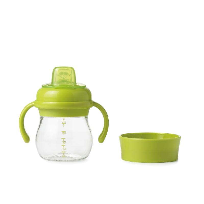 Oxo Tot Soft Spout Sippy Cup Set-Green