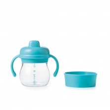 Oxo Tot Hard Spout Sippy Cup Set-Aqua