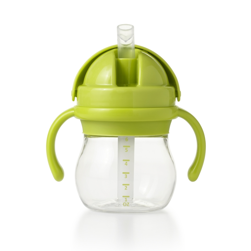 Oxo Tot Straw Cups with Handle-Green
