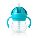Oxo Tot Straw Cups with Handle-Aqua