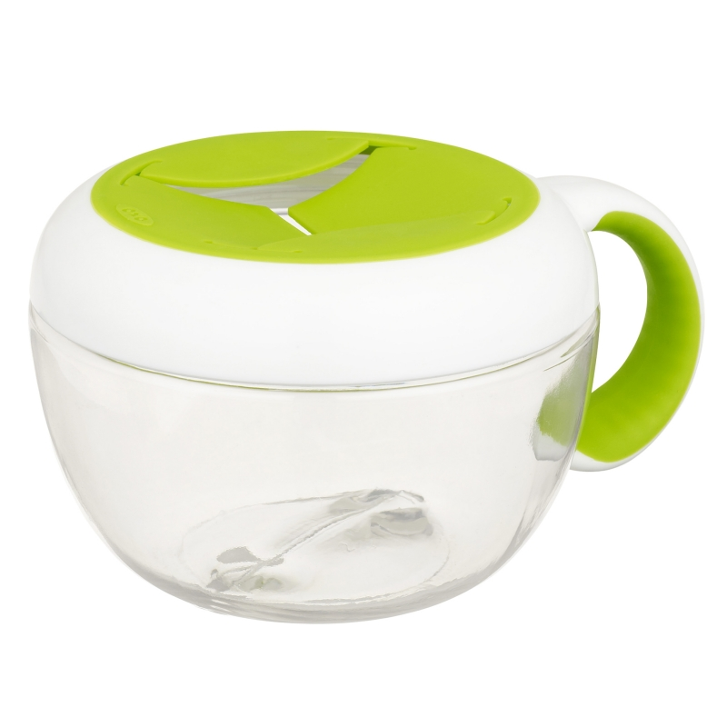 Oxo Tot Flippy Snack Cup-Green