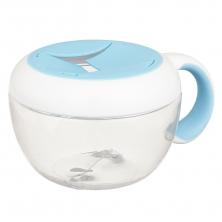 Oxo Tot Flippy Snack Cup-Aqua