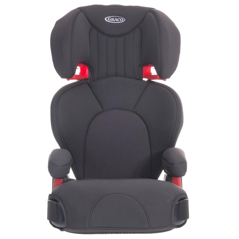 Graco Logico L Group 2/3 Car Seat-Midnight Grey