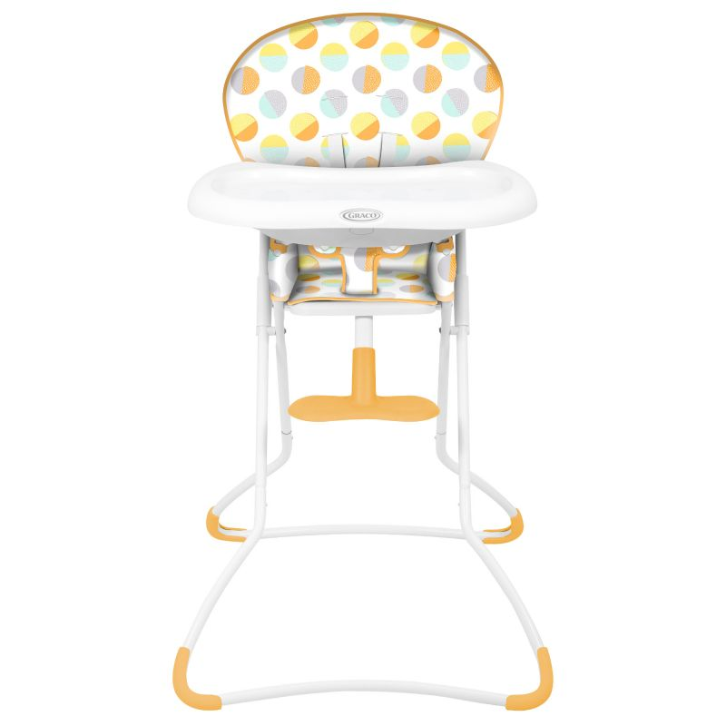 Graco Snack N Stow Highchair-80's Circle