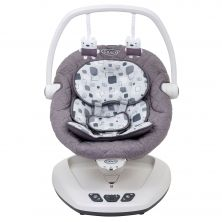 Graco Move With Me Soother With Canopy-Block Party