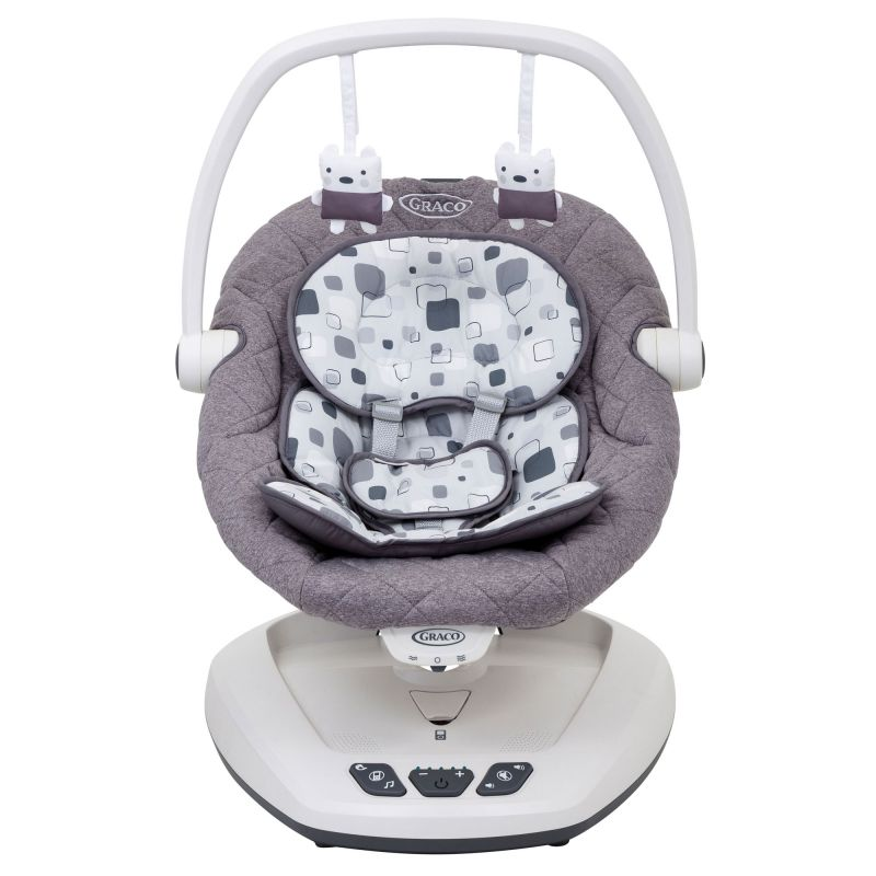 Graco Move With Me Soother With Canopy Block Party