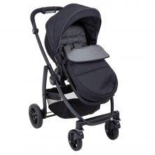 Graco Evo Stroller inc Footmuff-Black/Grey