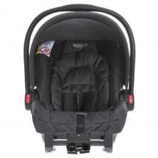 Graco Snugride R44.04 Group 0+ Car Seat-Midnight Black