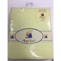 Angel Kids Cot Bed Sheet Terry Fitted-Yellow